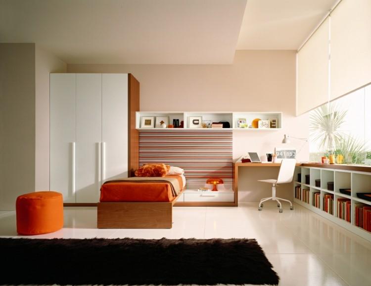 naranja detalles decorado musical pequeña muebles