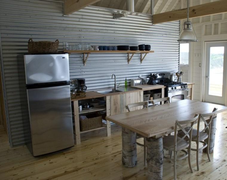 Decoraci n de cocinas chicas ideas para ahorrar espacio for Muebles industriales madrid
