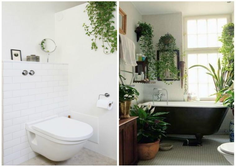 Decorar con plantas es genial treinta y ocho ideas - Plantas en el bano ...