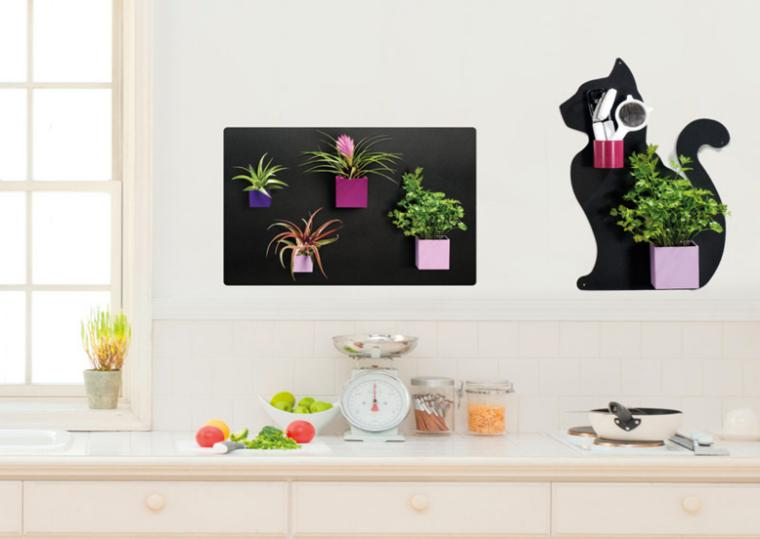 Decorar con plantas es genial treinta y ocho ideas for Decorar las paredes de la cocina
