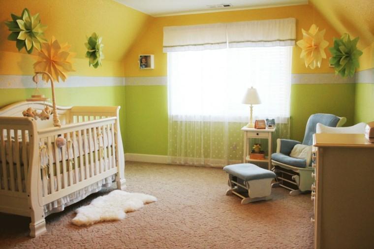 Cuartos de bebe treinta y ocho dise os encantadores - Habitacion bebe original ...