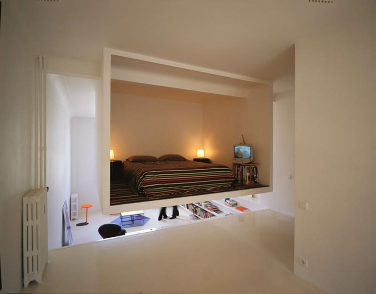 original diseño cabina cuarto moderno