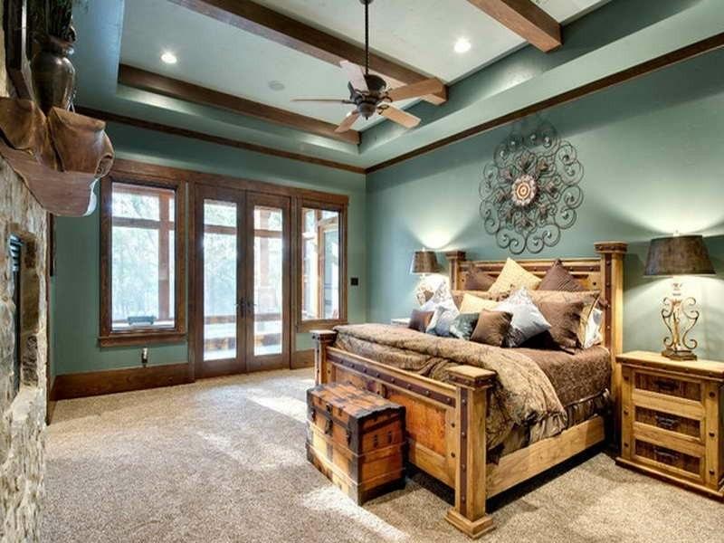 original diseño cama rústica madera