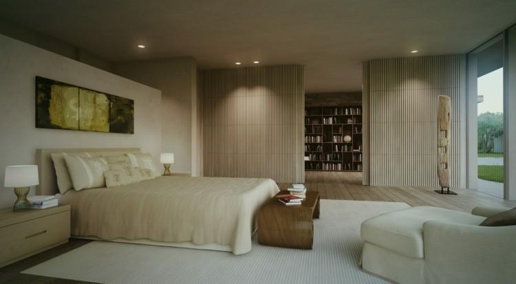 original diseño habitación color beige