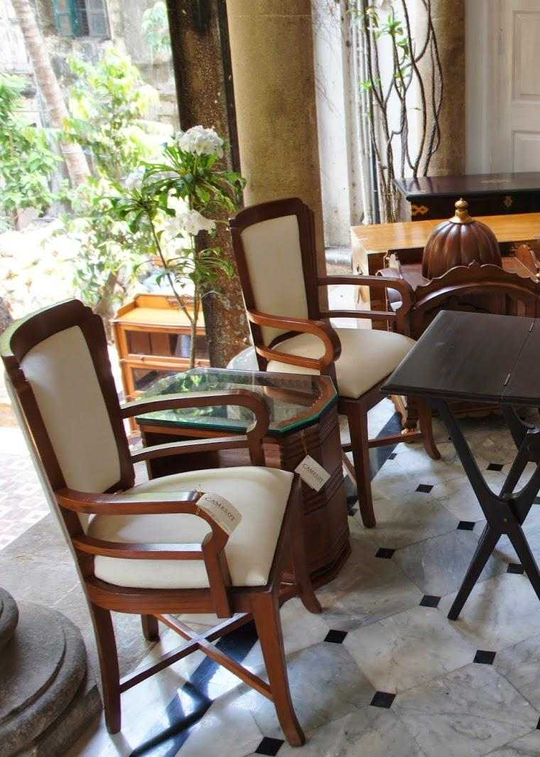 original diseño conjunto muebles estilo colonial