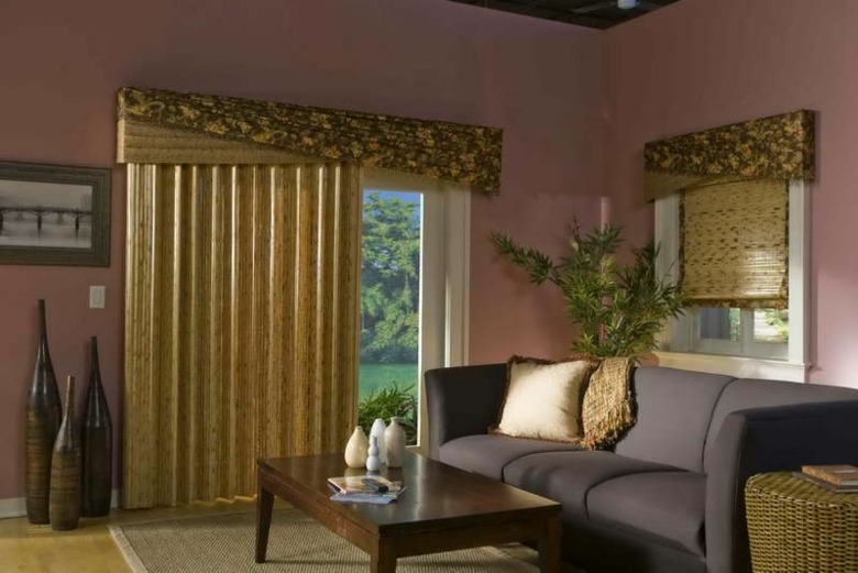 original diseo cortinas sala doradas