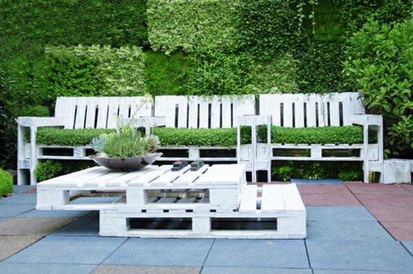 bancos jardin original diseño