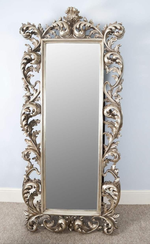 Espejos vintage de estilo rom ntico m s de 30 dise os for Espejo salon grande