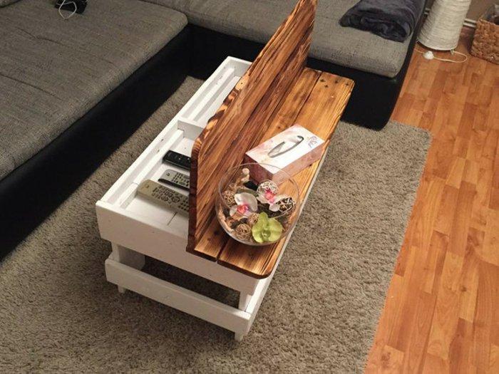 view in gallery mesilla banco pallet madera palet de madera para decorar su hogar 100 ideas - Palet De Madera