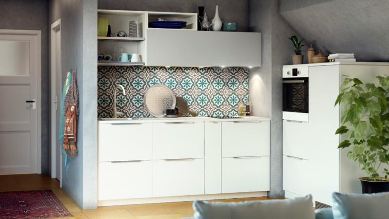 original diseño salpicadero cocina colores