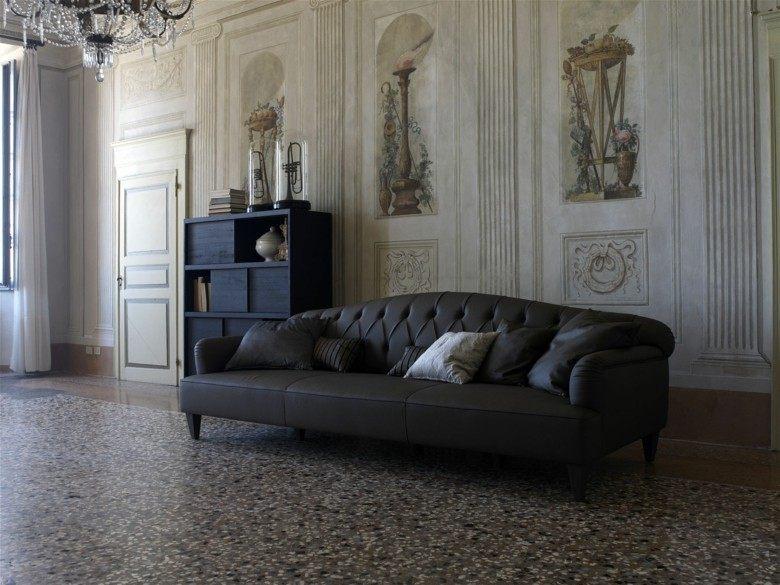 original diseño sofa chester negro