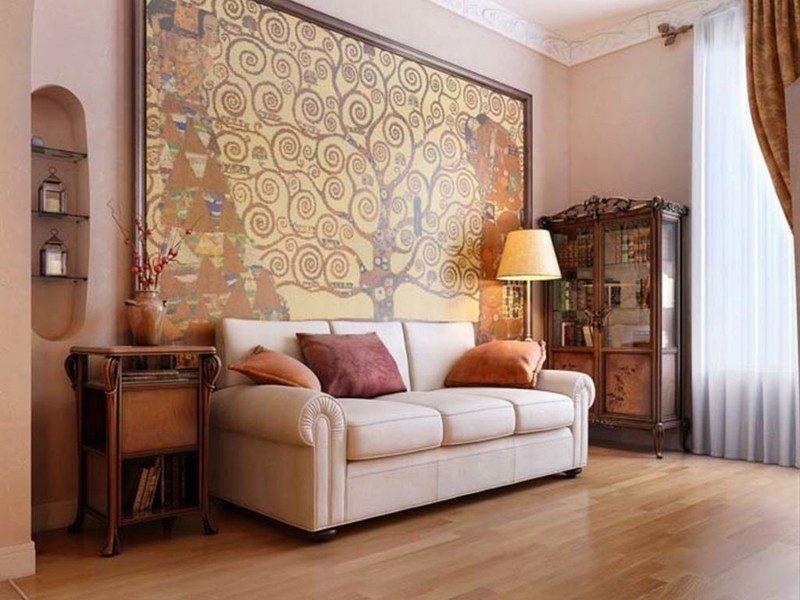 original diseño tapiz pared salon