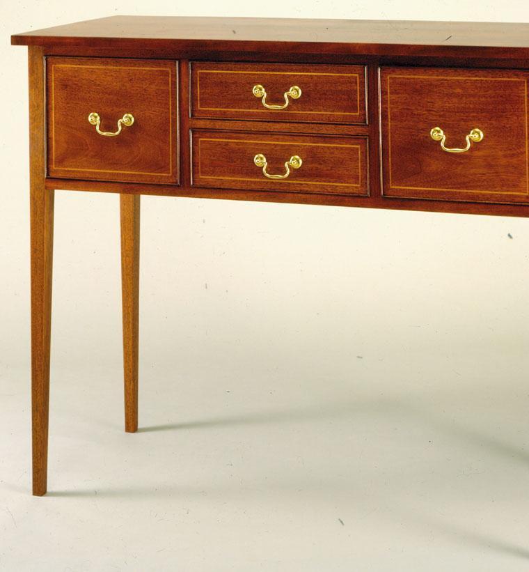 mesa estilo colonial madera