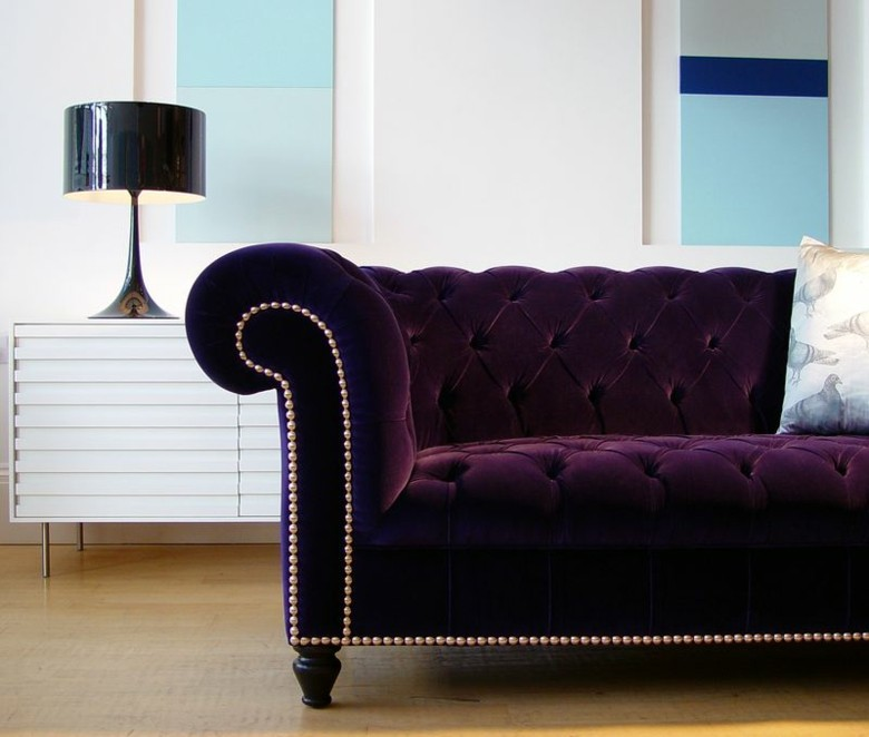 original sofa chester color purpura