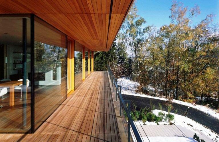 original terraza revestimiento madera teca