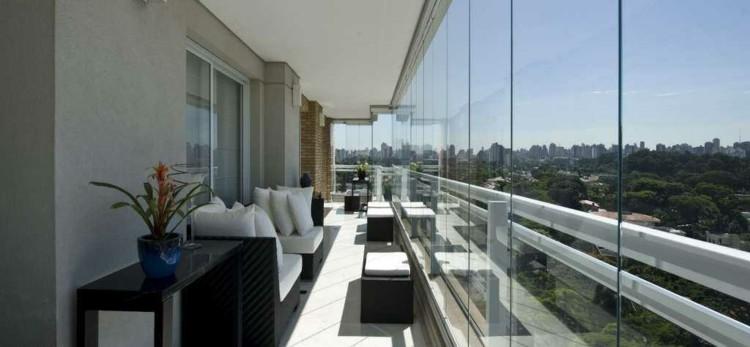 original diseño terraza moderna cristal
