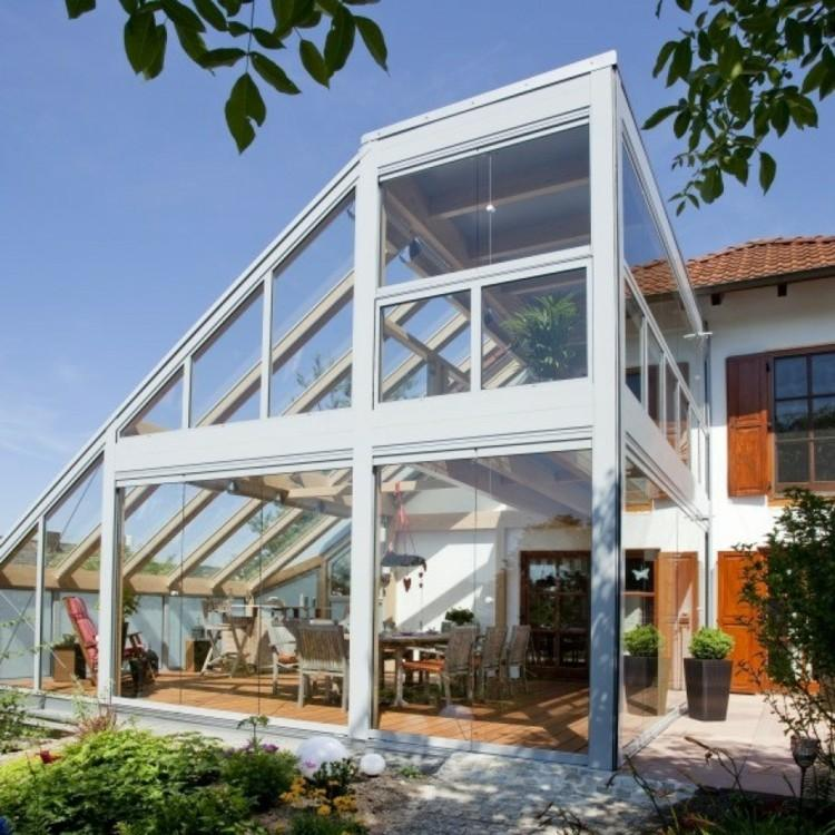 original diseño estructura acristalada