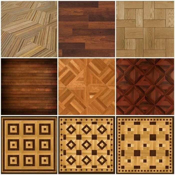 originales diseños laminados madera brillo
