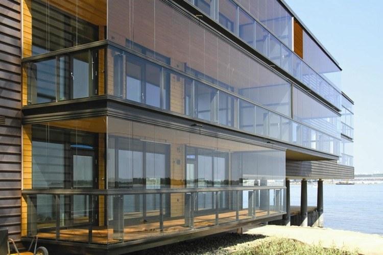 originales diseños terrazas acristaladas