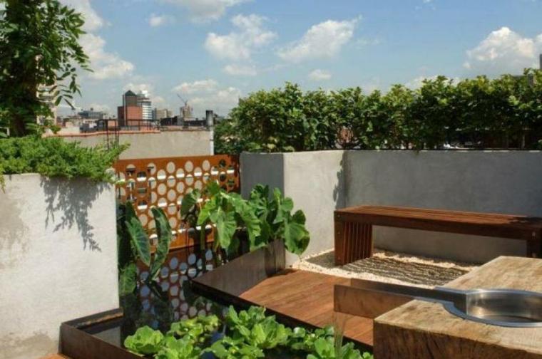 originales diseños terrazas modernas
