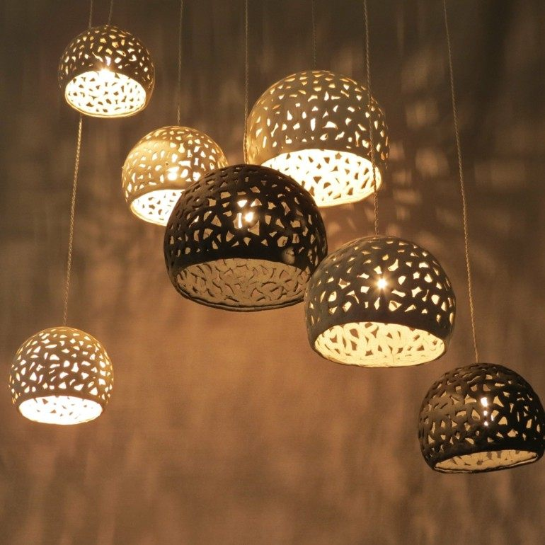 originales lamparas de dormitorio modernas