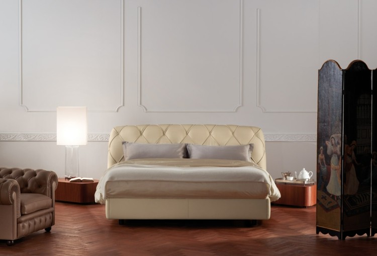 diseño de moda originales muebles retro capitoné