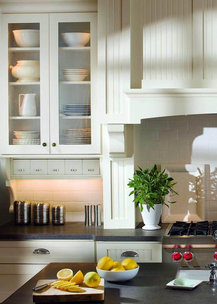 decoración cocina estilo clásico
