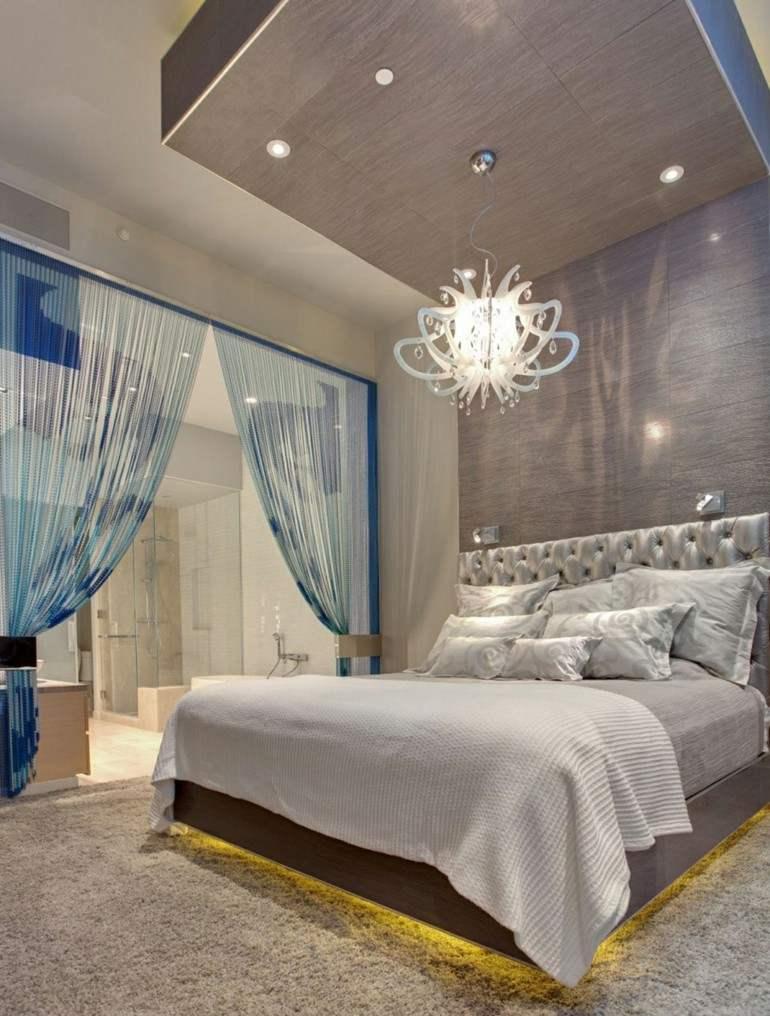lamparas de dormitorio luces Led bajo la caba