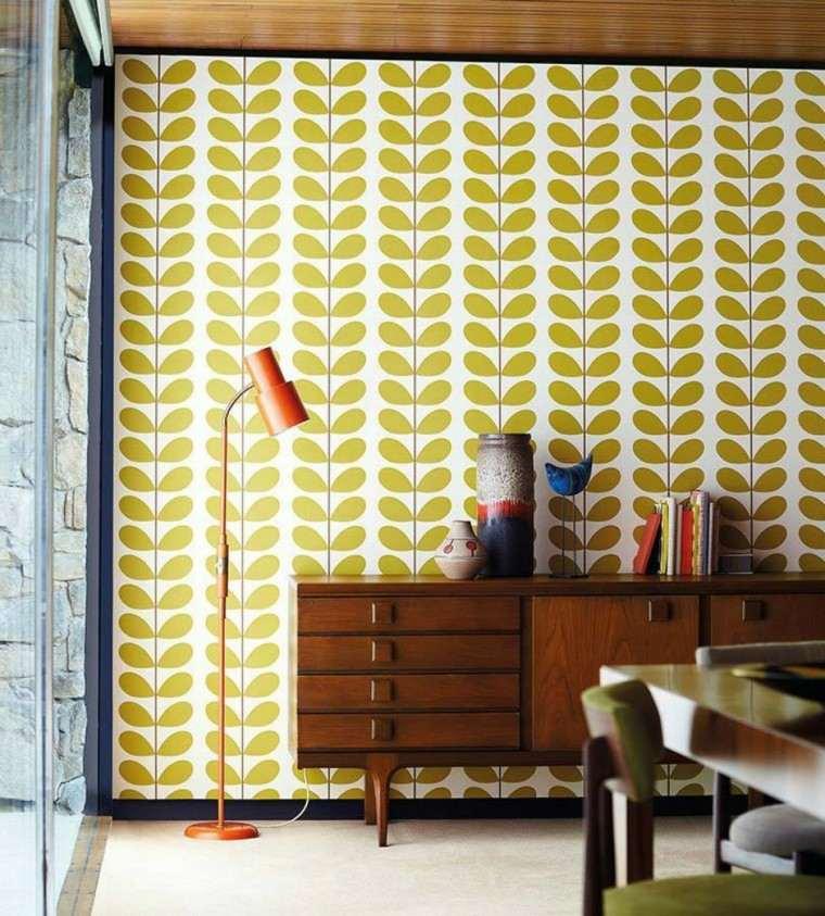 papel pared diseno vintage ventana armario vintage ideas