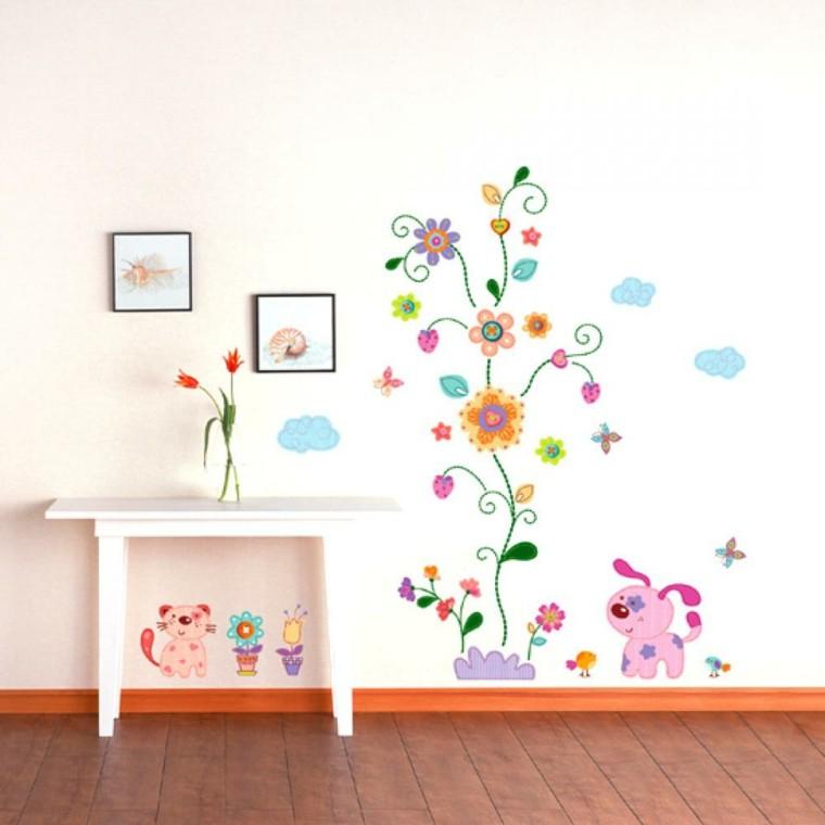 papel pared pintado mesilla bñanca