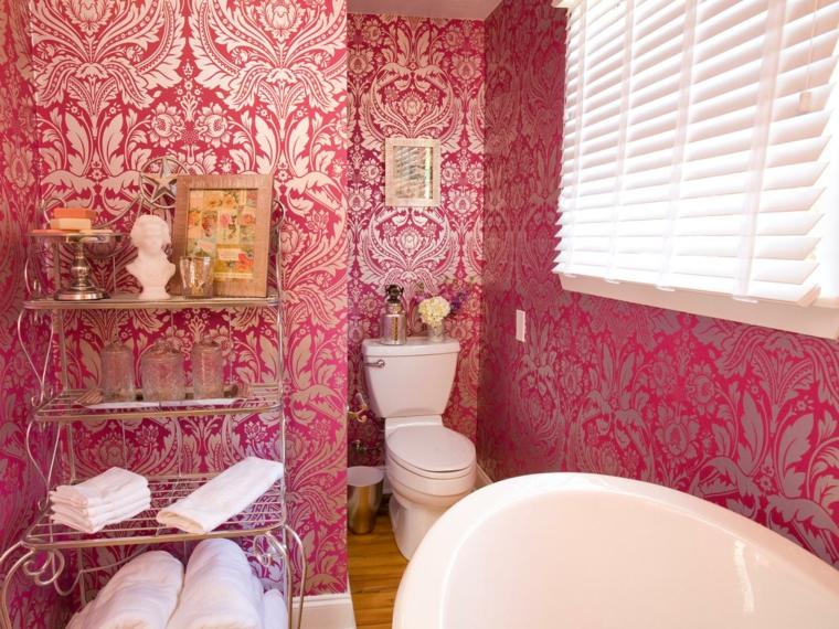 paredes decoradas variantes rosa cuadros