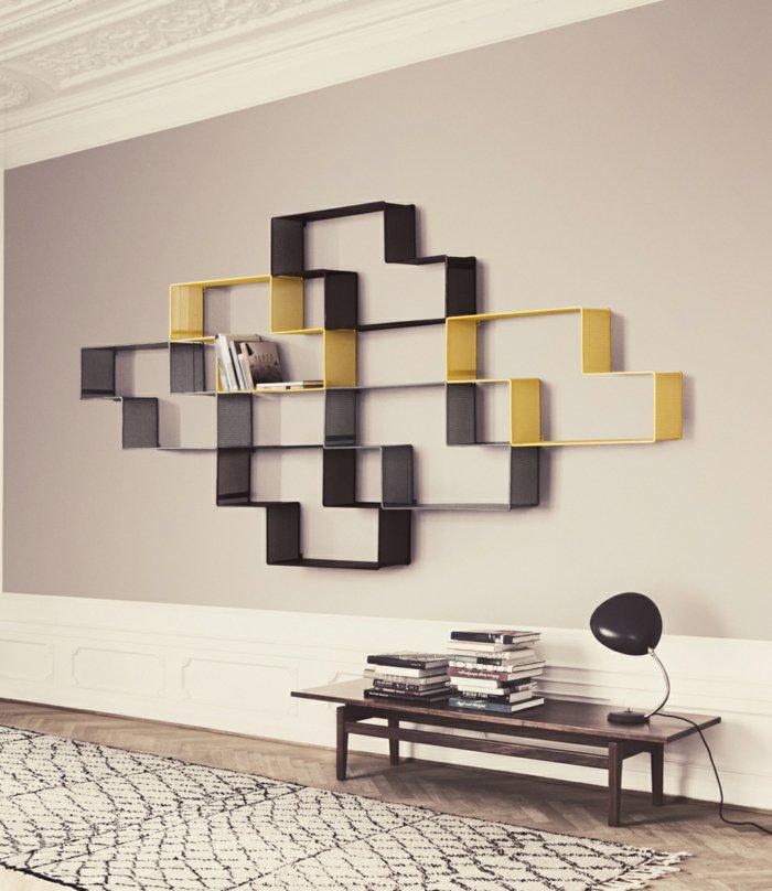 paredes detalles amarillo alfombras soluciones