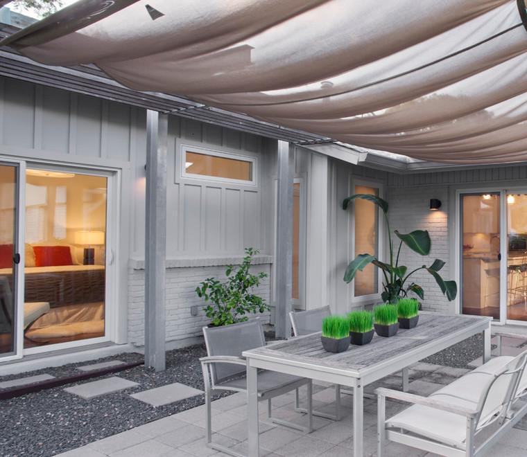 terraza cubierta toldos lona