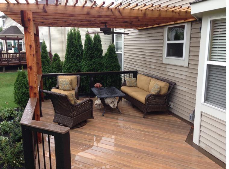 Porches para terrazas modelos de espacios semicubiertos for Terrazas de madera para casas