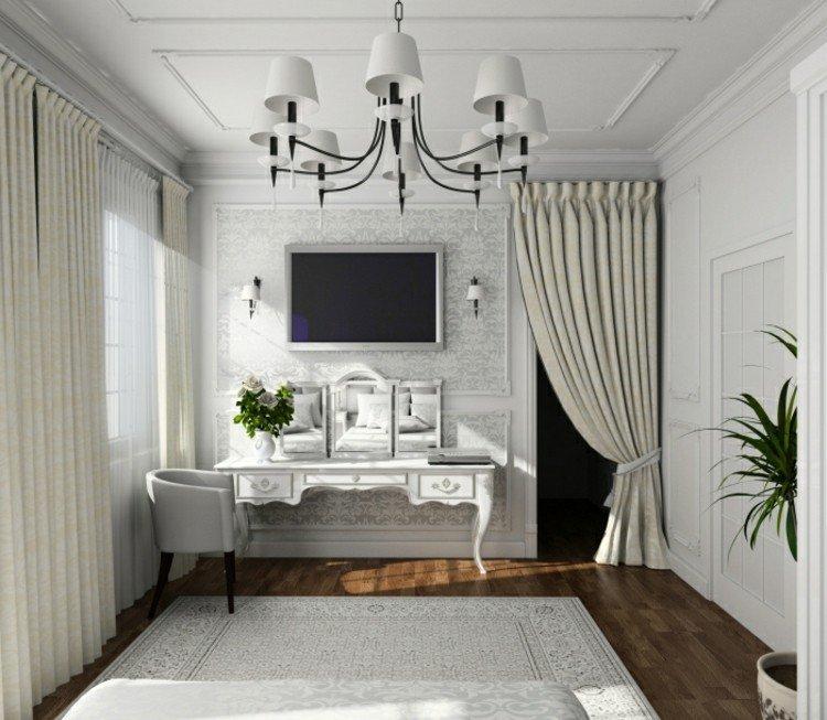 plantas casas diseño areas salones cortinas