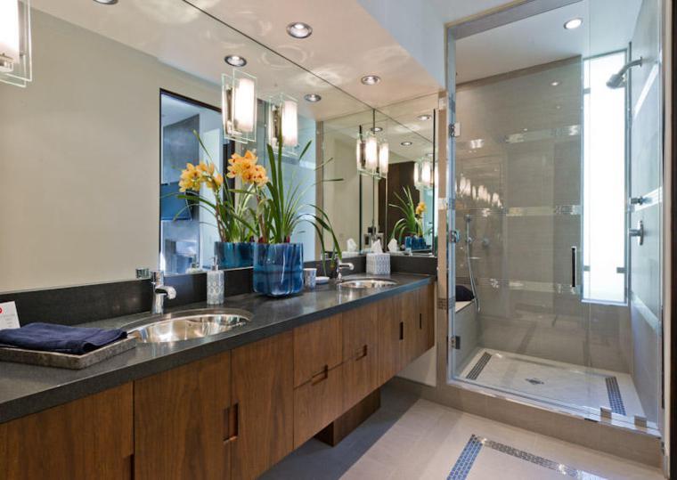 plantas decorativas cuarto baño