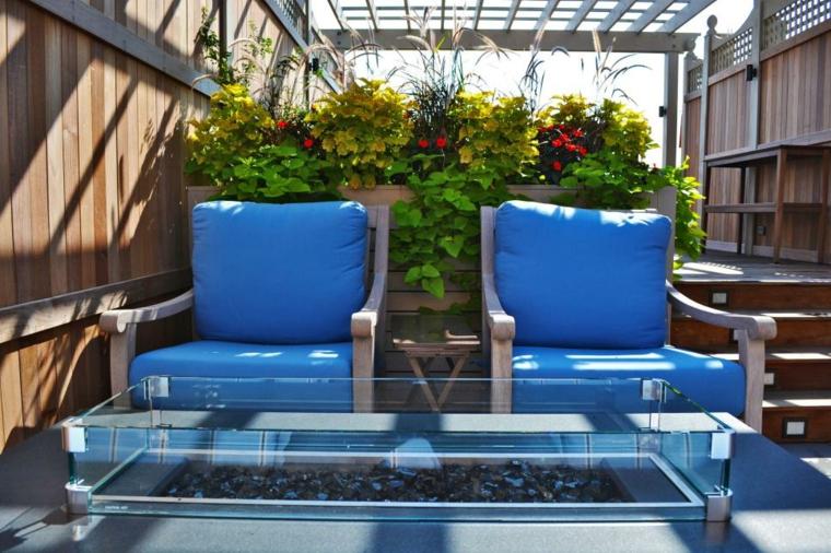 plantas diseño terrazasa decorados mesas