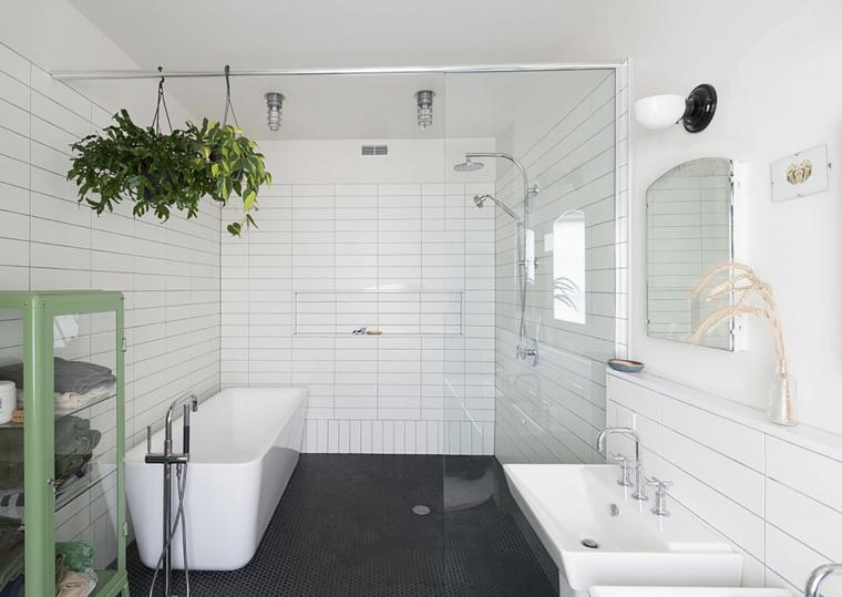 plantas macetas colgantes cuarto