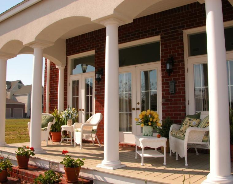 Terrazas cubiertas decoracion y dise o 48 ideas - Muebles portico ...