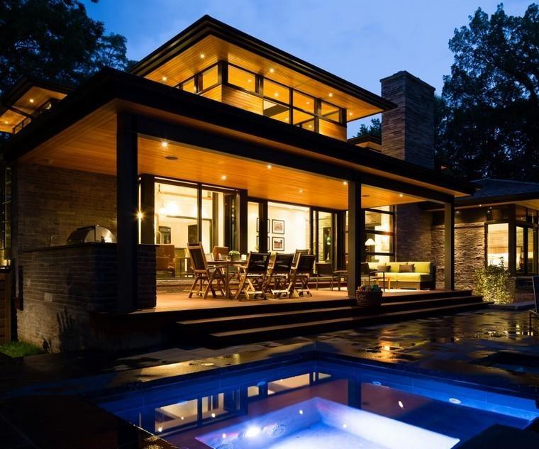 diseños porches para terrazas lujosas