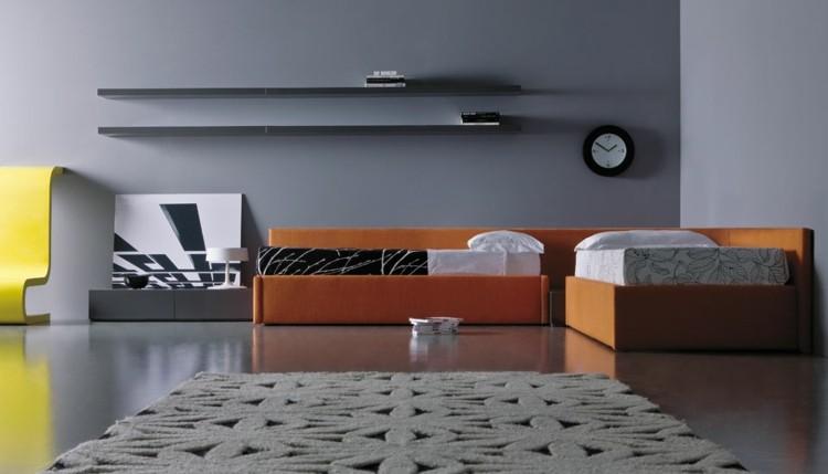 relojes detalles decorado minimalista doble