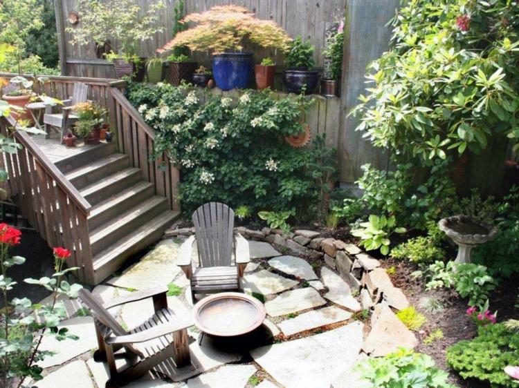 rocas naural espacio jardines suelos lajas