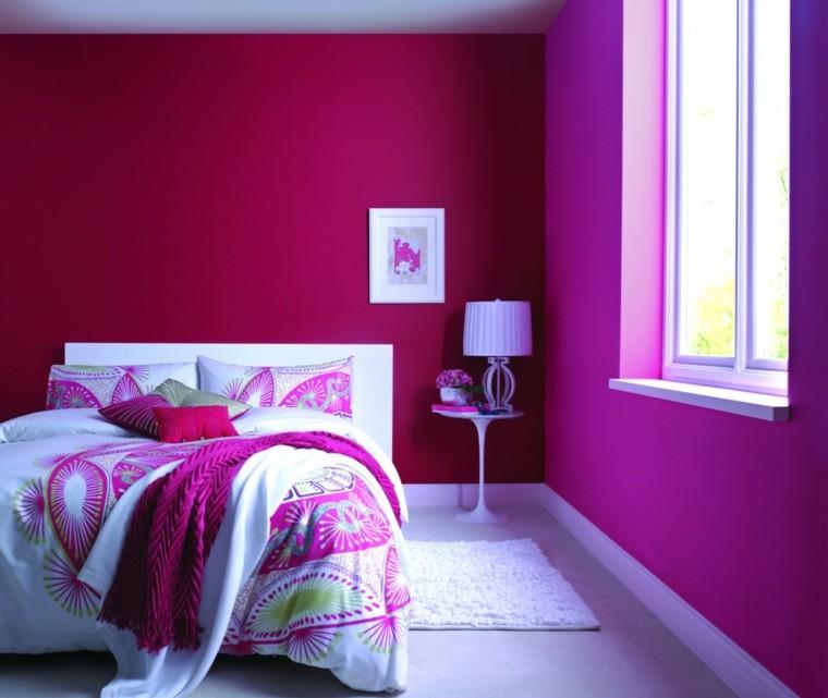 rosa detalles decorado sabanas dormitorio