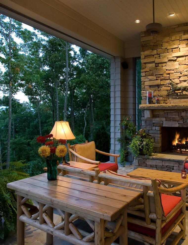 Terrazas cubiertas decoracion y dise o 48 ideas for Cubiertas para casas campestres