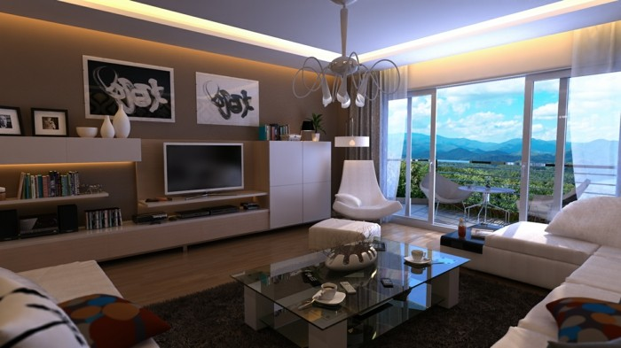 sala grises espacios diseño calido