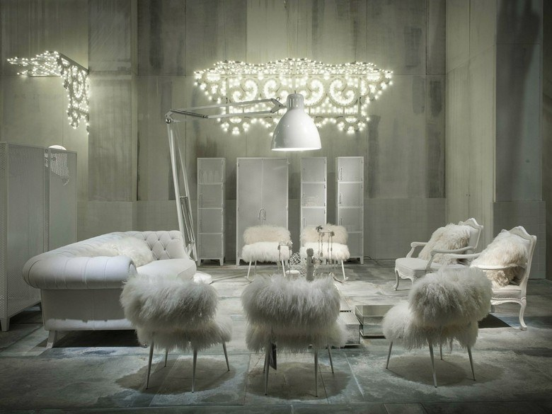 salon blanco sofa deco