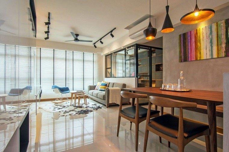 salon comedor bonitos disenos modernos casa ideas