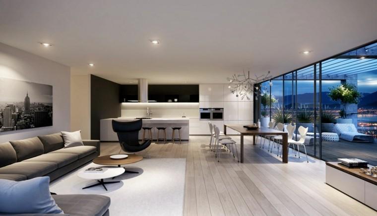 salón lujoso estilo moderno