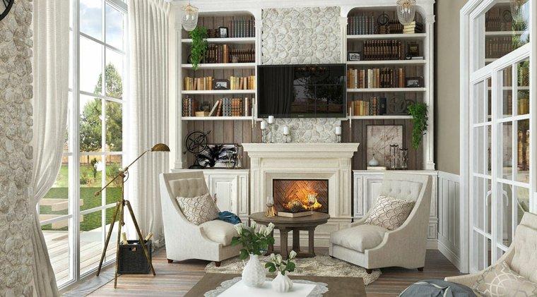 salon-moderno-chimenea-estilo-rustico-diseno