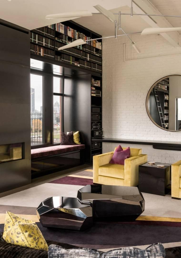 salon muebles originales interesantes ideas
